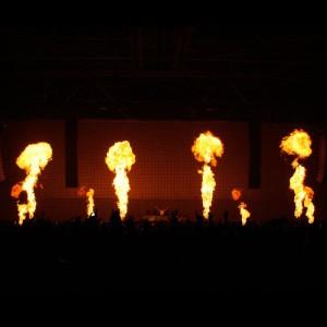 Projecteur de flammes