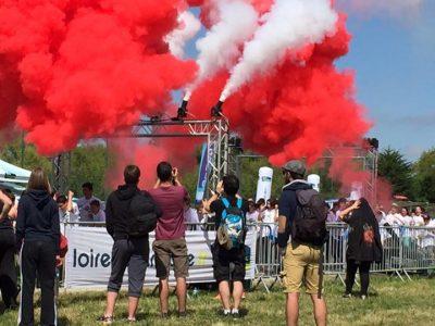 Juste merci pour cette journee !! #poudredecouleur #co2jet #flammes #pyro #nextfx Département de Loire-Atlantique…