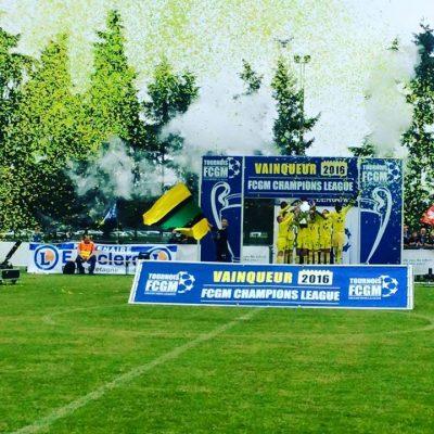 Shoot confettis à 2 sec FC Nantes en jaune & vert