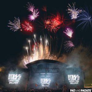 Just amazing #kiss #hellfest # #ffppyro Un putain gros show : effets spéciaux by…