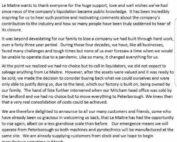 Nous supportons Le Maitre Ltd  🙏🙏 Traduction :